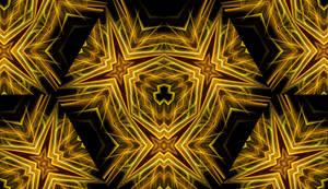 Golden Mandala by adiyasa