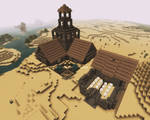 Minecraft - Age of Empires Town center, Barracks