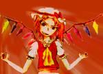 Flandre Scarlet - Colored
