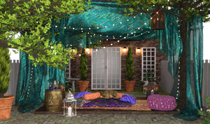 Boho Garden  by ThorneArtStudio