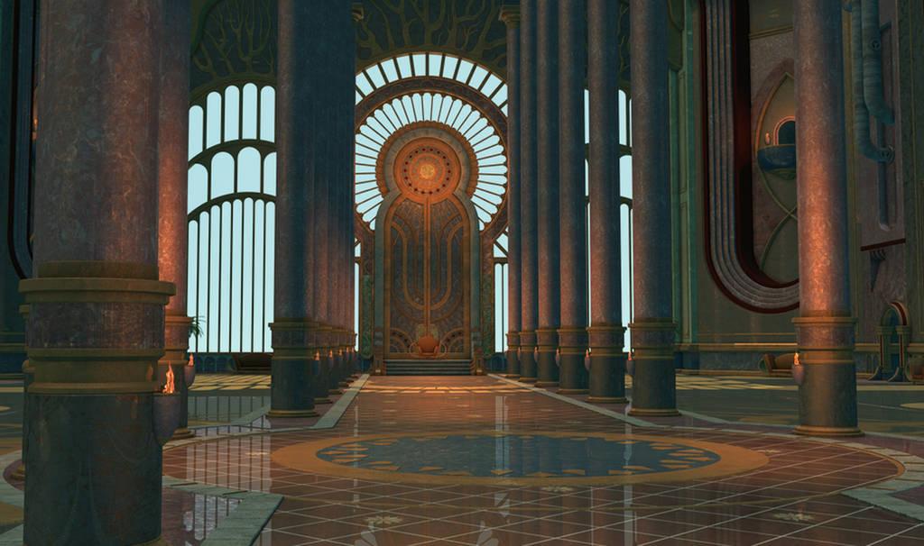 Sunhall by ThorneArtStudio