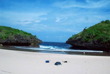 sedhahan beach by heparistic