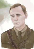 captain nicholls (Tom Hiddleston ) - War Horse by l3earFat