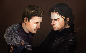 Aidan and Dean  ll    So Cold by l3earFat