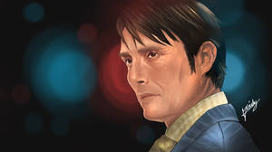 Hannibal - Hannibal Lecter by l3earFat