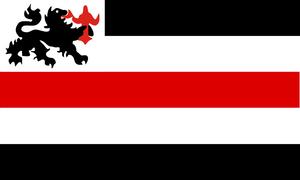 Kaiserreich Flag - Allgemeine Ostasiatische Gesell