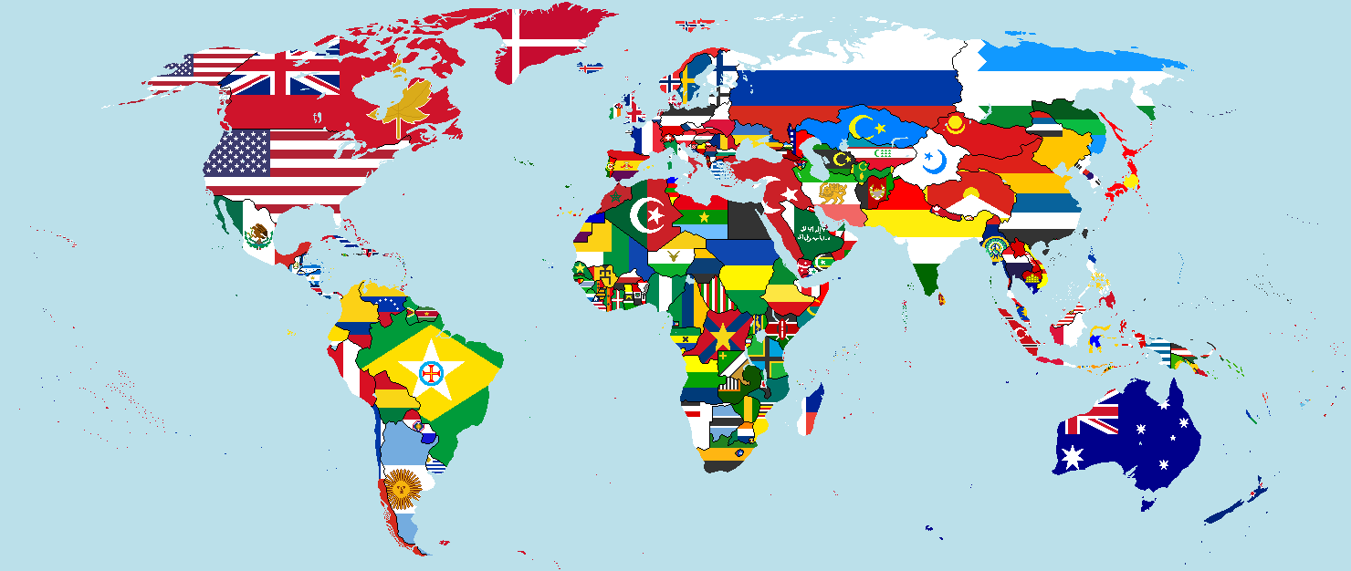 Late world war flag map by morraw on deviantart late world war flag map by morraw gumiabroncs Images