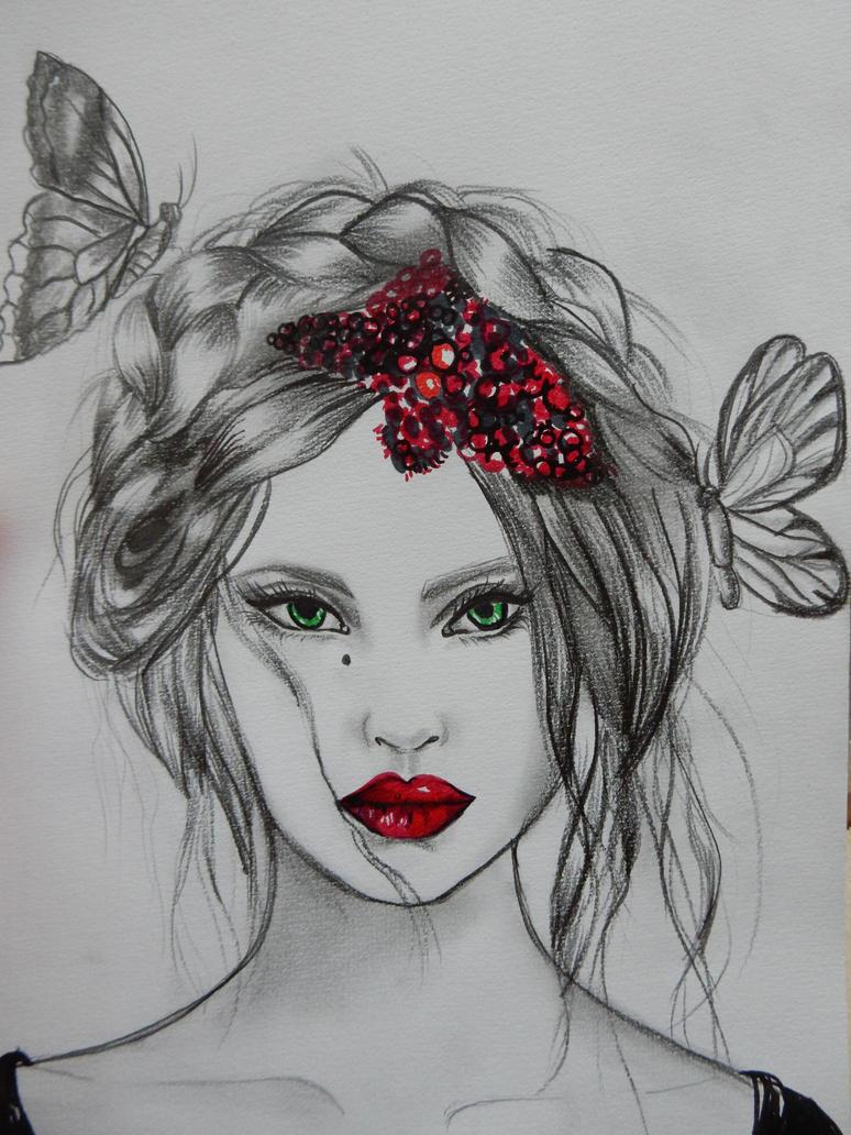 Butterflies state of mind by AureliaRoux