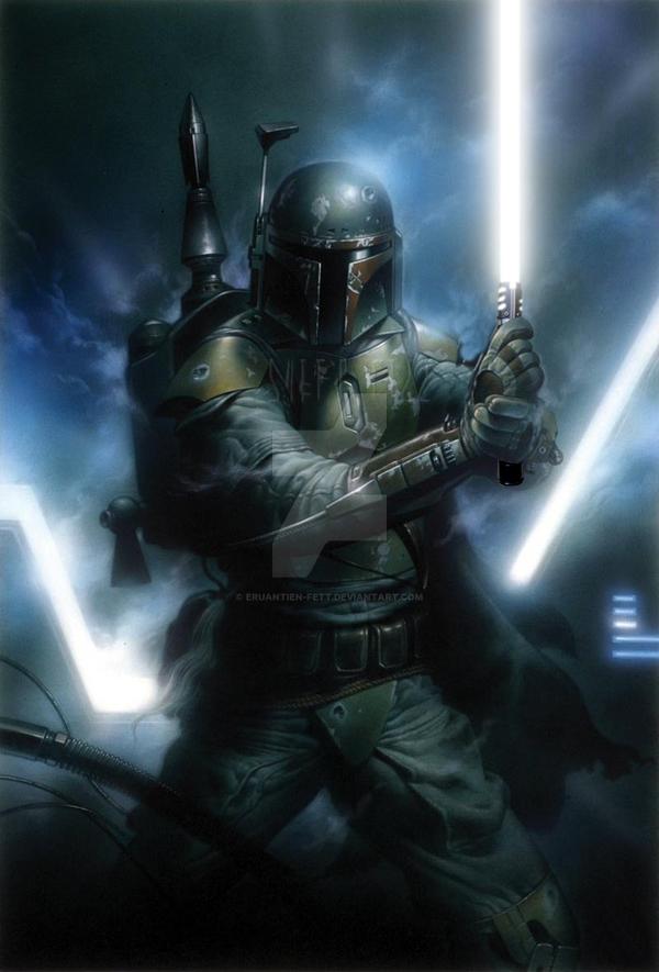 Boba Fett - Jedi by Eruantien-Fett