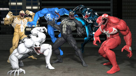 Venom from MARVEL VS. CAPCOM: INFINITE. by 8Yaron8
