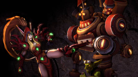 Goblin Slayer - Blizzard version by 8Yaron8