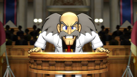 The trial of Dr. Wily by 8Yaron8