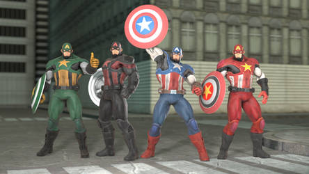 MARVEL VS. CAPCOM: INFINITE - Captain America by 8Yaron8