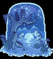 Moonlight swamp