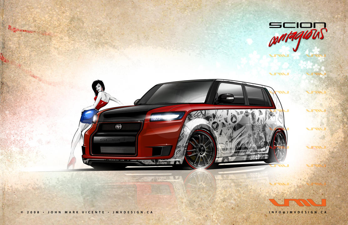 Scion Contagious by jmvdesign