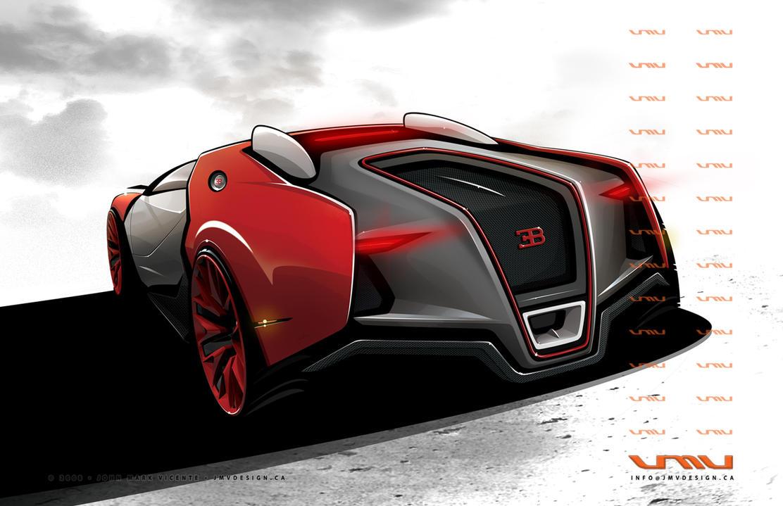 Bugatti Renaissance - Rear by jmvdesign on DeviantArt