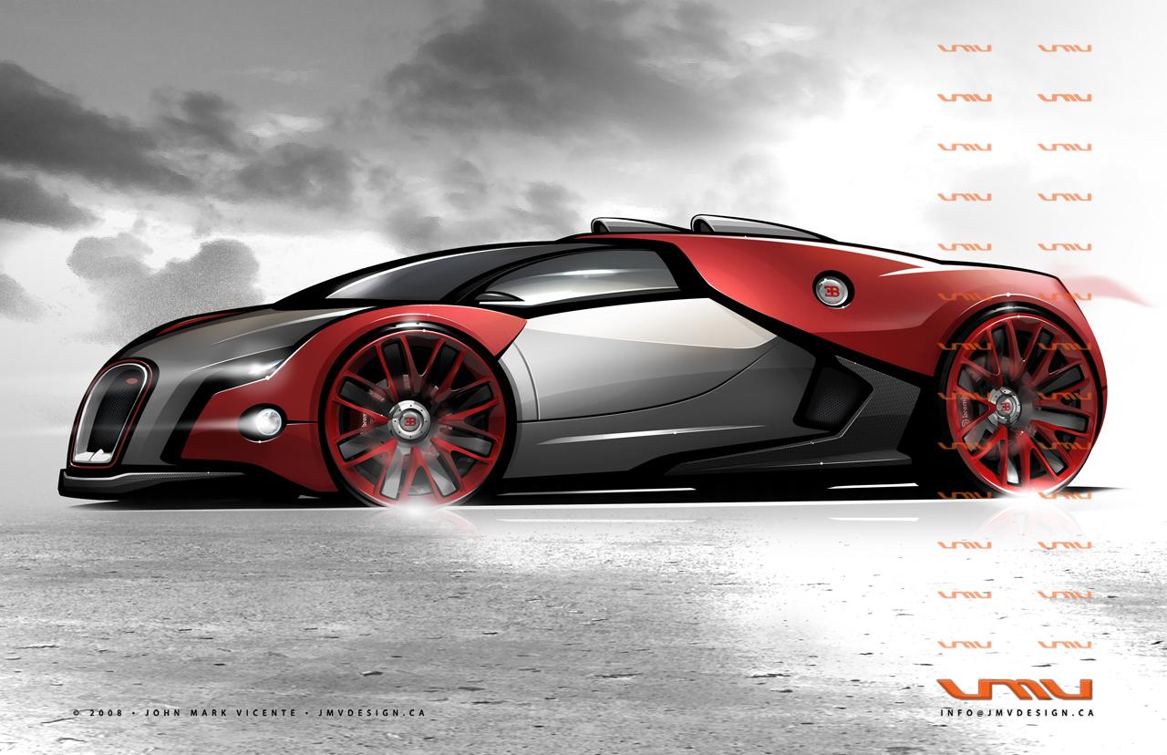 Bugatti Renaissance, el futuro de Bugatti - Taringa! Bugatti Renaissance Concept