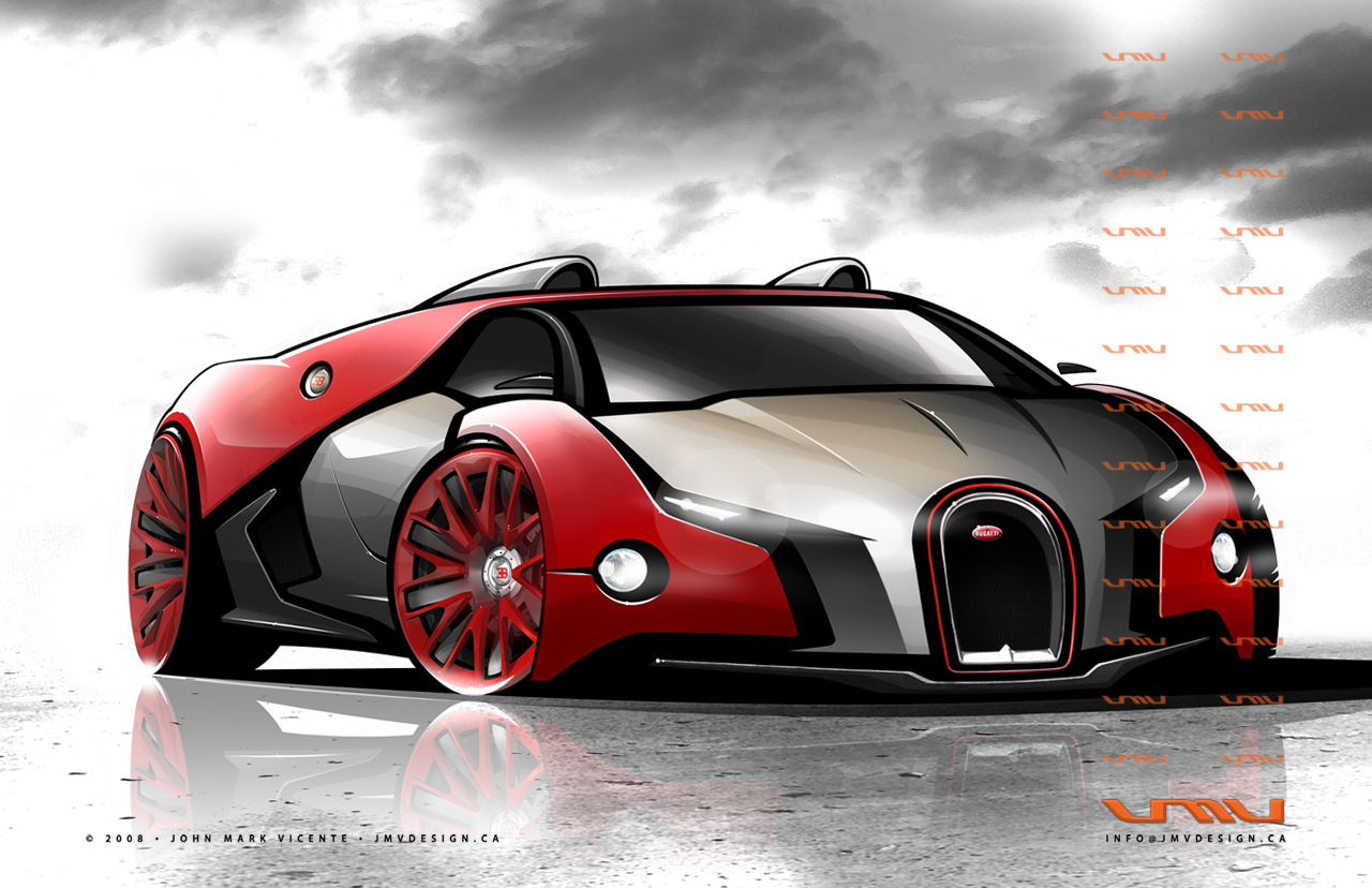 Bugatti Renaissance - Front by jmvdesign on DeviantArt Bugatti Renaissance Concept