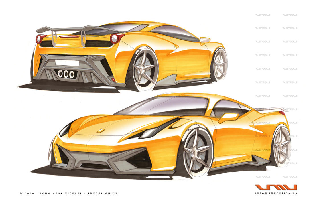 Ferrari 458 italia gt 12 by jmvdesign on deviantart for Design italia
