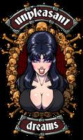 My name's Elvira but you can call me 'tonight'