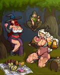 Dragon's crown picnic (with video)