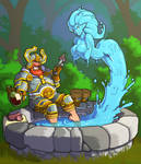 Taunting Water Elemental (with video)