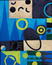 Blue Geometric by scarlet-dahlia