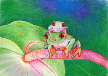 Froggies by scarlet-dahlia