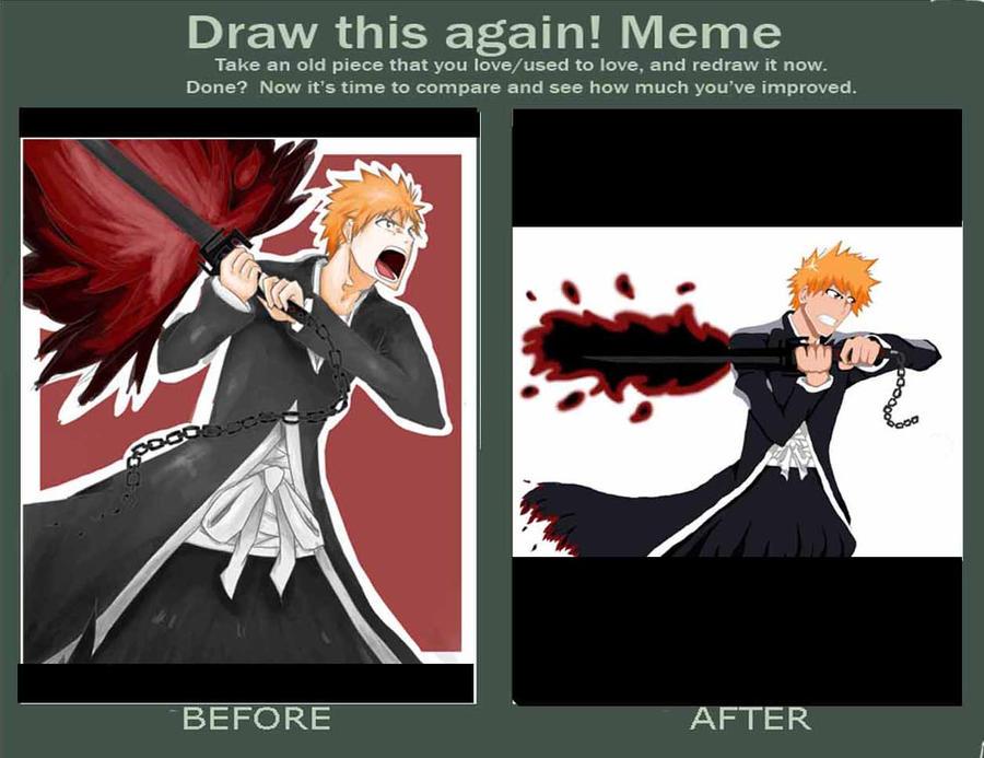 Ichigo Before An After By Textaphrenia