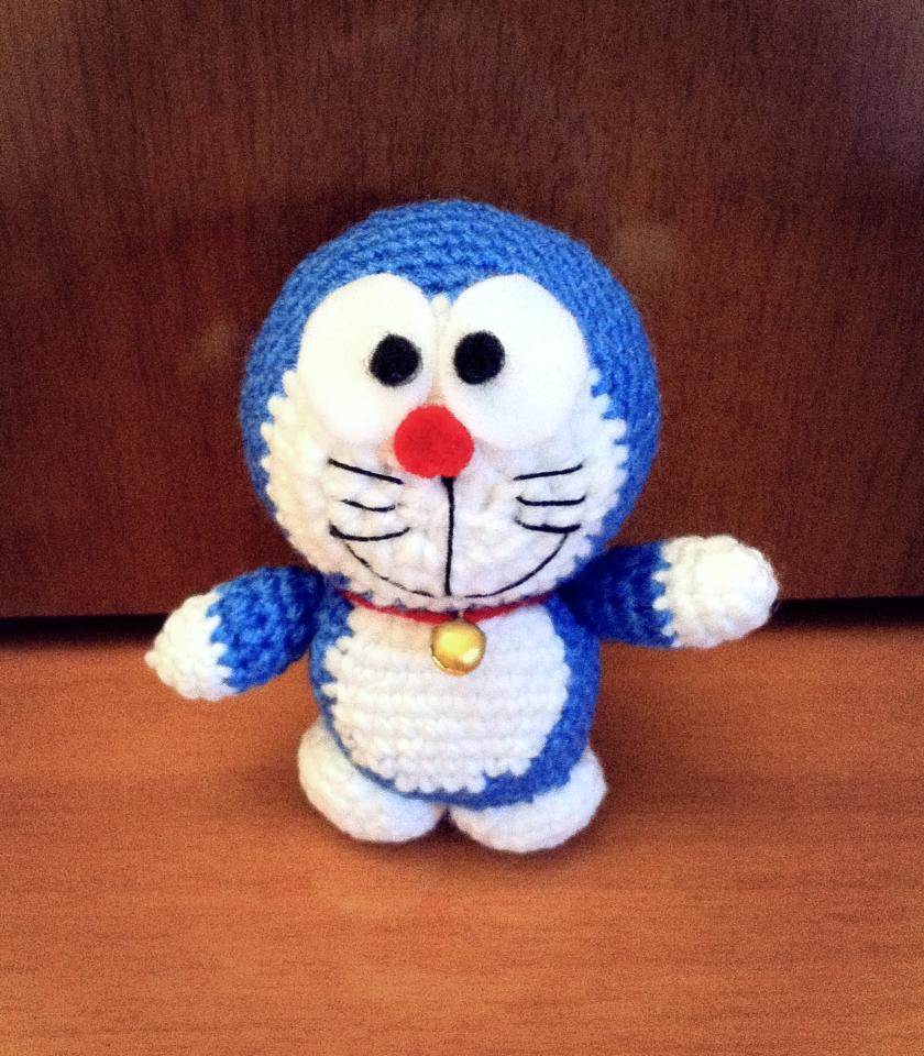Free amigurumi pattern: Doraemon – amiguruMEI | 960x840