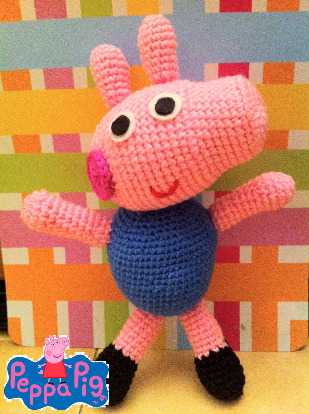 Peppa Pig Amigurumi by myachan91 on DeviantArt