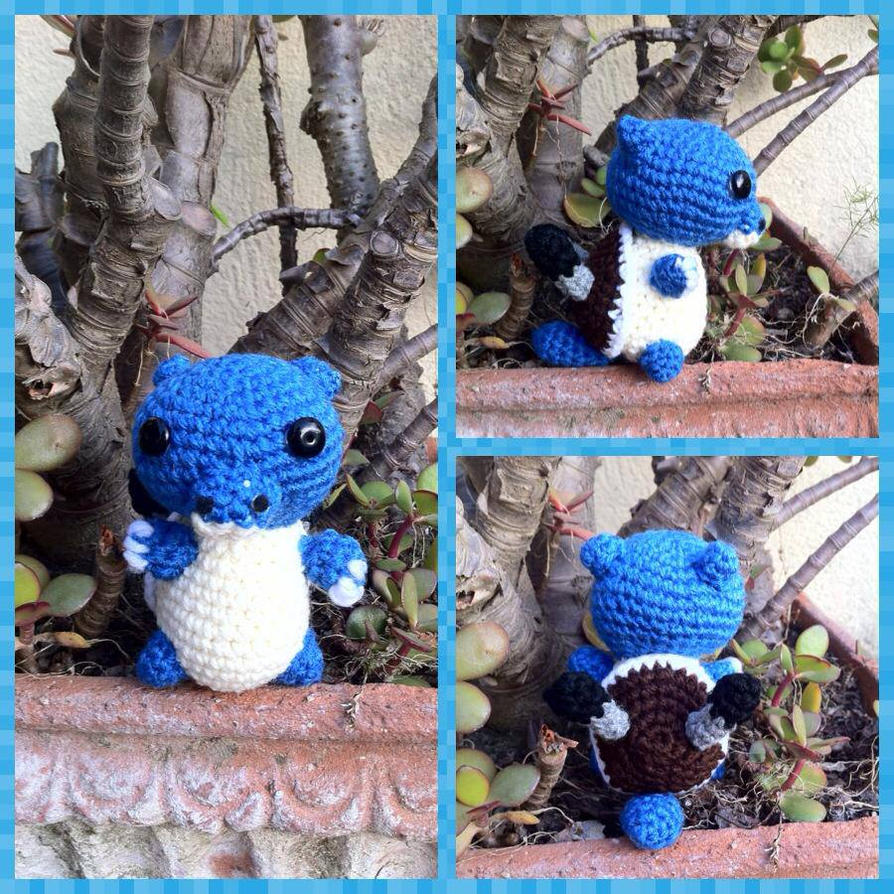 Blastoise Amigurumi by myachan91 on DeviantArt