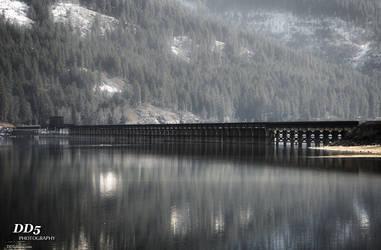 Sandpoint train bridge by DragonDriver5