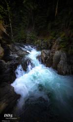 Blue falls by DragonDriver5