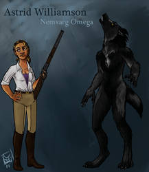 Moontouched Astrid by avalonauggie