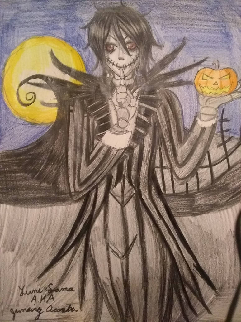 Sebastian the pumpkin king by xgurenxmatsumotoxx