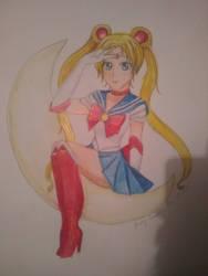 Sailor Moon by xgurenxmatsumotoxx