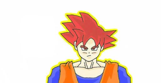 Goku SSJG by Trop10