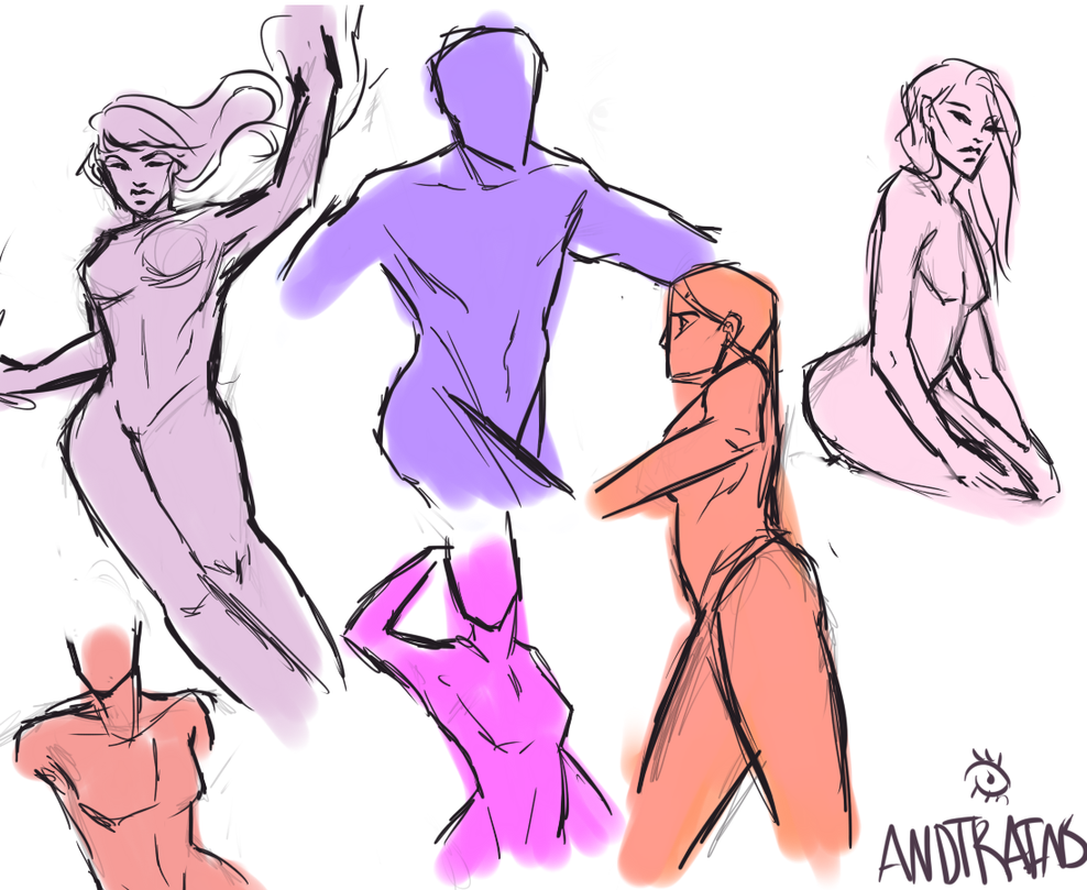 Sketches by Andtrains