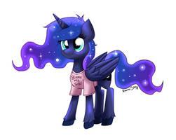 Gamer Luna by RavenSunArt