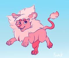 Steven's Lion by RavenSunArt