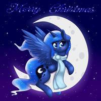 Merry Christmas Luna by RavenSunArt