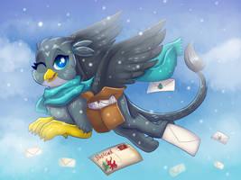Mail Griffon by RavenSunArt
