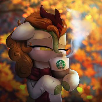 Autumn by RavenSunArt