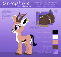 Seraphine Reference Sheet