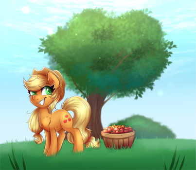 Apple Orchard ( Collab w/ The-Mod-Pony )