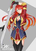 Selesia Re Creator by KirigayaART