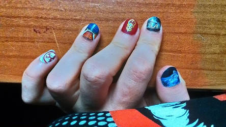Another music album nails by Anima714
