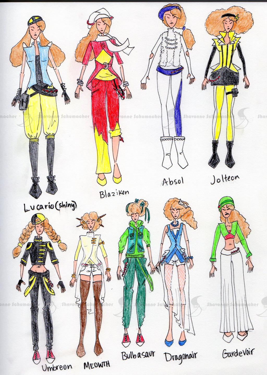 Azura Pokemon Trainer Designs By Sufon On DeviantArt