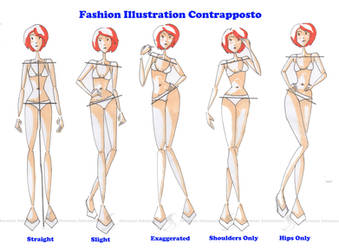 Contrapposto for Fashion Illustration by Sufon
